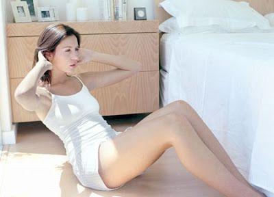 Liệu các bạn nữ đang tập bụng có đúng phương pháp chưa ? Thể Hình Channel