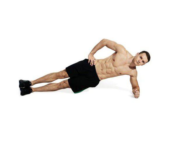 Động tác Plank một bên