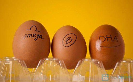 Trứng Omega-3