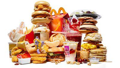 Đừng ăn những món ăn nhanh hoặc làm sẵn nhé