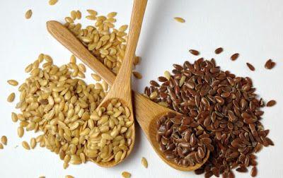 Hạt lanh có 2 loại là nâu và nâu vàng