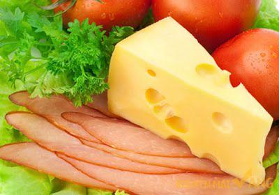 Phô mai tưới giúp hấp thụ chất dinh dưỡng hiệu quả.