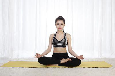 Tư thế hoa sen giúp luyện tập tinh thần khi luyện tập