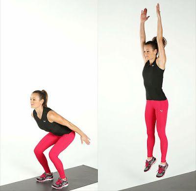 Tư thế nhảy squat