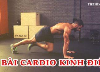 70 bài tập Cardio giảm cân cấp tốc