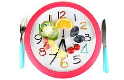 Nên ăn đúng giờ trong các bữa ăn