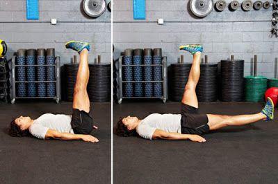 Động tác hạ 1 chân -Single-Leg Lowering