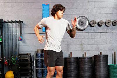 Động tác xoay cơ bụng -Tight Core Rotation