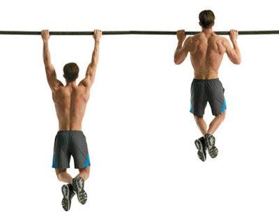 Hít xà là bài tập giảm mỡ lưng cho nam hiệu quả nhất