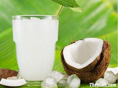 Dừa tươi rất tốt cho người ăn kiêng