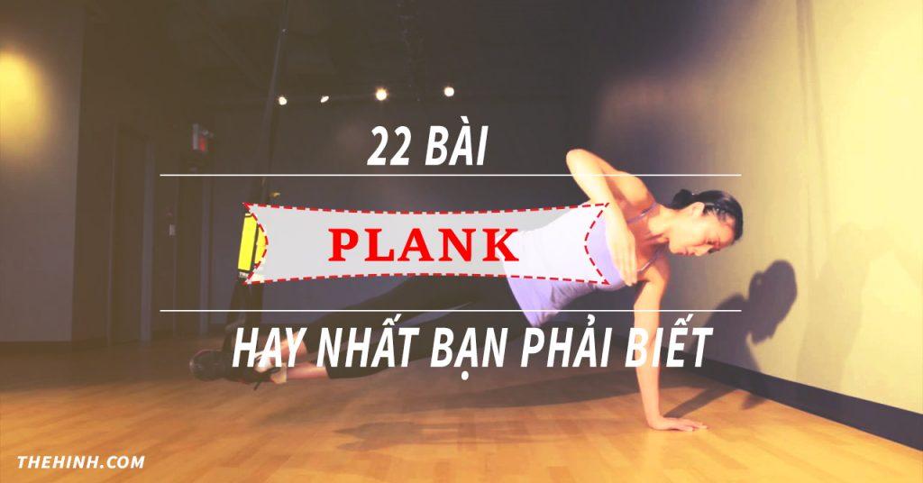 22 bài Plank hay nhất bạn phải biết