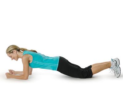Plank đầu gối