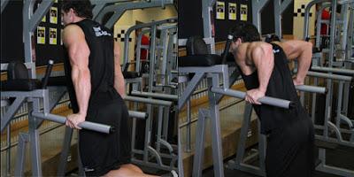 Bài tập cơ tay sau dip triceps