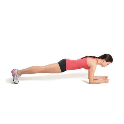 Plank thấp