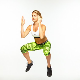 Squat to Jump - B
