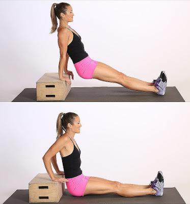 Một bài Triceps Dips cơ bản