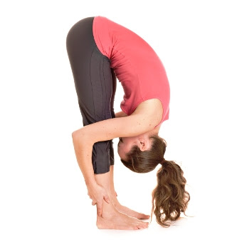 Tư thế Yoga cuối gập người