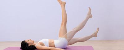 Tư thế Yoga nâng cao chân