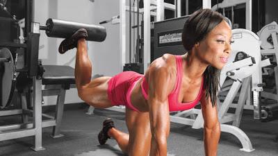 7 bài tập gym cho nữ của VĐV có thân hình đẹp nhất thế giới Thể Hình Channel
