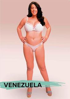Venezuela thì ....càng mập càng đẹp chăng ?