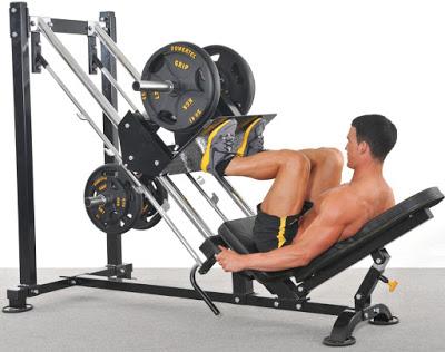 Leg Press Machine - Máy đạp chân