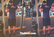 Smith Machine Reverse Calf Raise