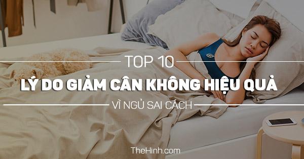 Top 10 thói quen xấu khi ngủ khiến bạn tăng cân chóng mặt