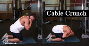 Cable crunch