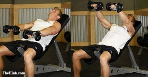 Font Incline Dumbbell Raise