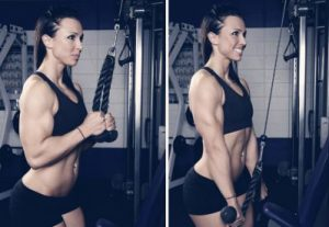 Rope-Triceps-Pushdown