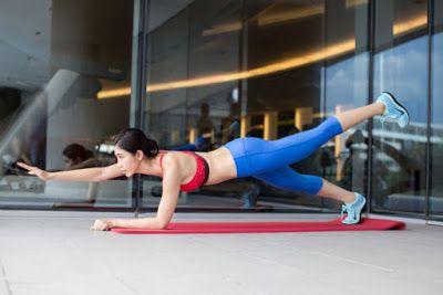 Một biến thể của bài tập Plank