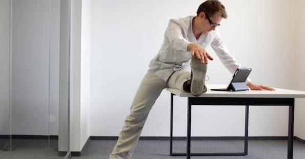 Các bài tập vận động toàn thân ngay tại văn phòng