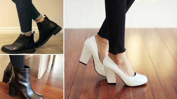 Nên chon các loại giày đế thô