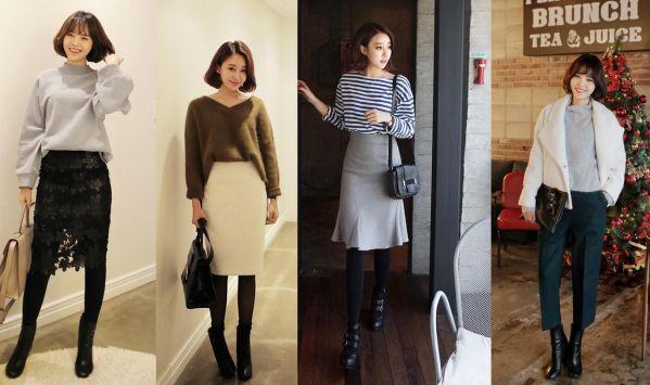 Một vái Style mix đồ cho cô gái chân vòng kiềng