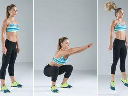 Jump Squat - Bài tập đốt cháy calo giảm cân nhanh nhất tại nhà