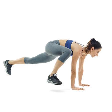 Switch Jump - Plank nhảy chéo chân