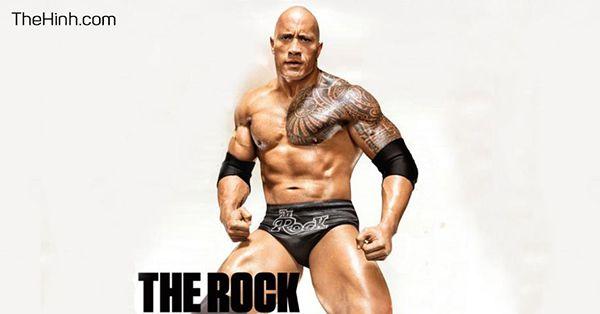 The Rock và bí quyết tập luyện