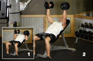 Crossover Hammer Grip Incline Bench Press