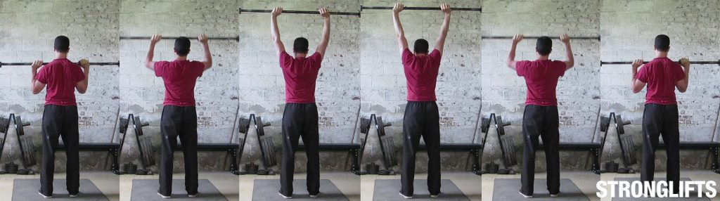 Overhead press form 101