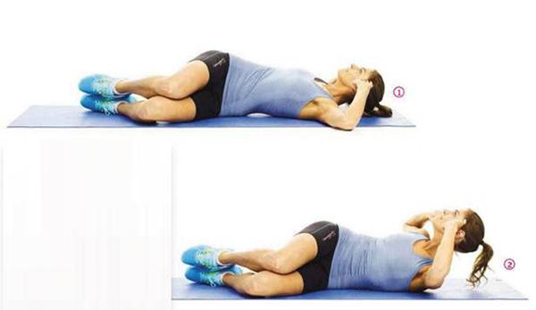 Động tác gập bụng nghiêng