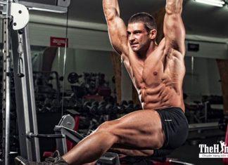 Bài tập cơ liên sườn cho nam tại nhà cho bạn cơ bụng 6 múi siêu ngầu