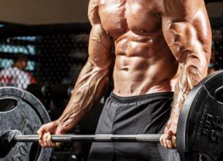 Barbell Biceps Curls - Bài tập đứng cuốn tạ đòn tập tay trước