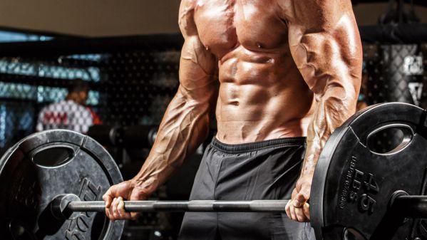 Barbell Biceps Curl - Bài tập đứng cuốn tạ đòn tập tay trước