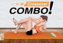 Tập cơ liên sườn cho nữ với Crossover Combo