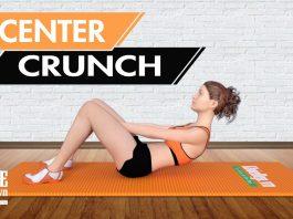 Bài tập gập bụng Center Crunch