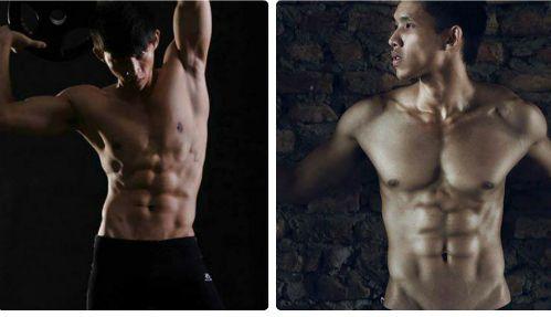 5 năm tập gym, từ người ốm yếu thành lục sĩ thể hình