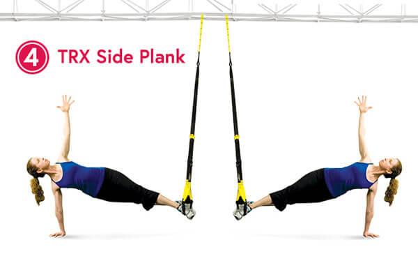 TRX Side Plank - Plank nghiêng trên dây TRX