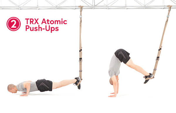 TRX Pike - Gập bụng ngược