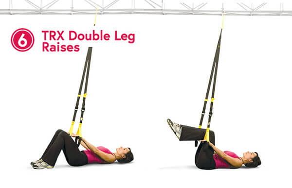 TRX Double Leg Raise