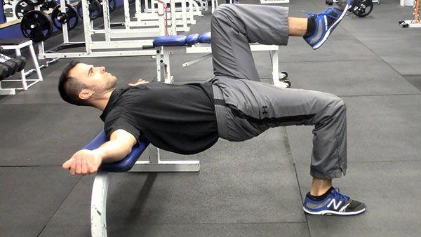 Đẩy hông nâng cao 1 chân - Single-leg Hip Thrust